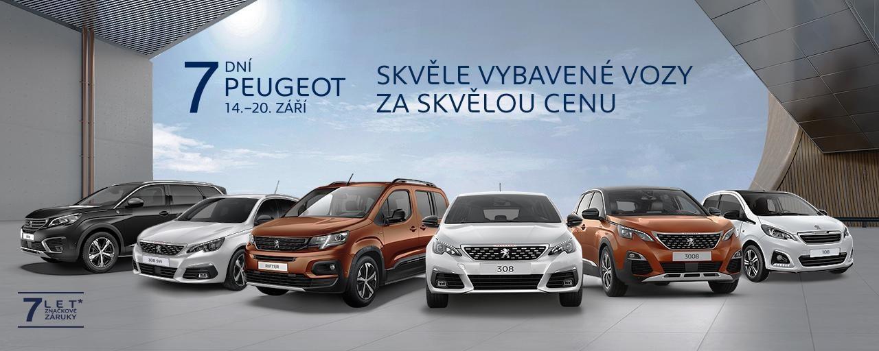 7 dni Peugeot - zari 2020